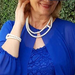 Marina Soutyrine Art Jewelry - 🆕️🎁SET: NECKLACE AND BRACELET